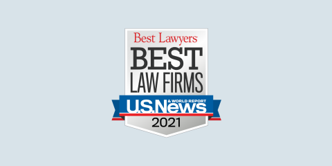 News Image - Freeborn Highly Ranked By 2021 U.S. News – Best Lawyers 'Best Law Firms'
